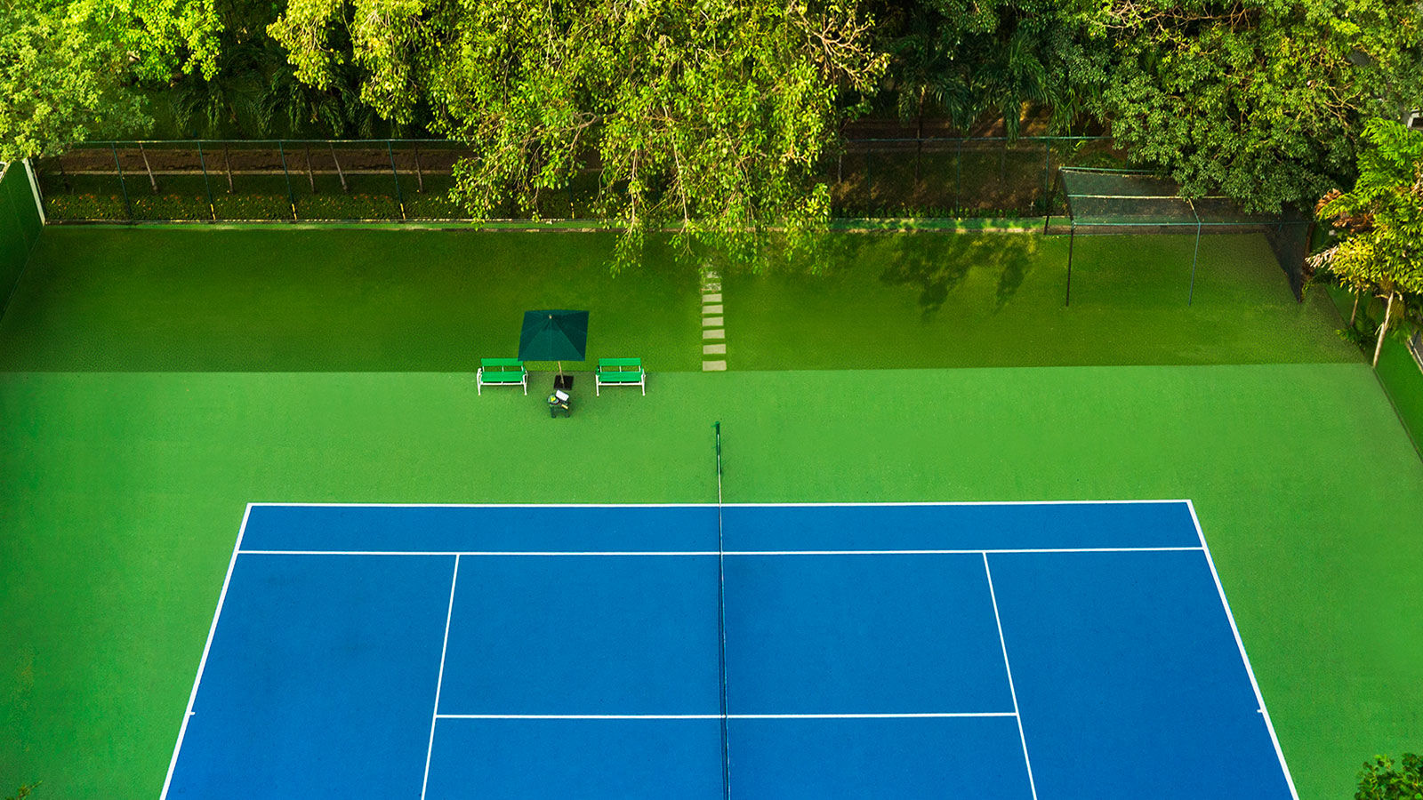 Tennis court - Royal Orchid Sheraton Hotel & Tower Bangkok