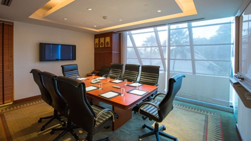 Business Center I at Royal Orchid Sheraton Hotel Bangkok