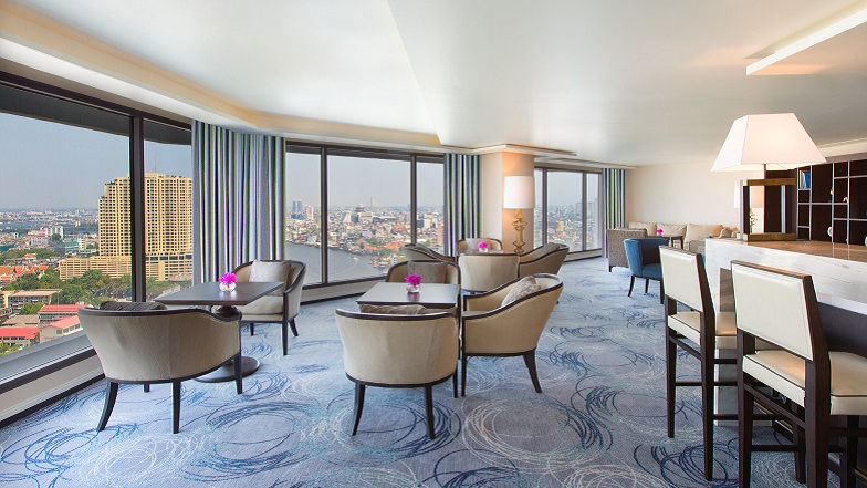Sheraton Club Lounge at Royal Orchid Sheraton Hotel & Towers Bangkok