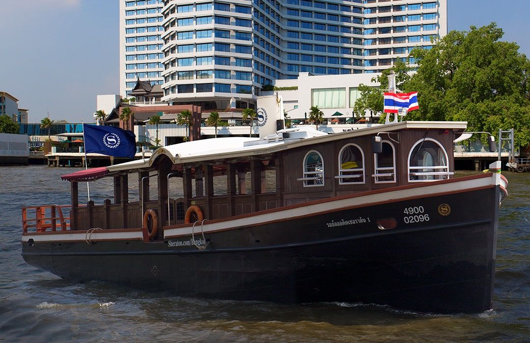 Shuttle Boat - Royal Orchid Sheraton Hotel & Tower Bangkok
