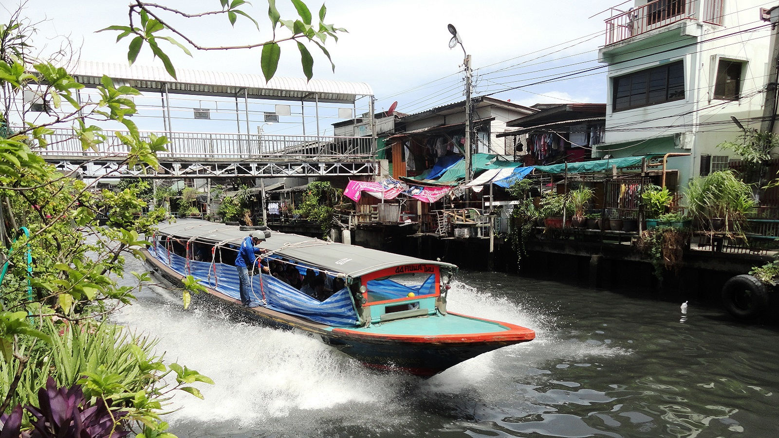 Long Tail Boat Ride - Royal Orchid Sheraton Hotel & Tower Bangkok