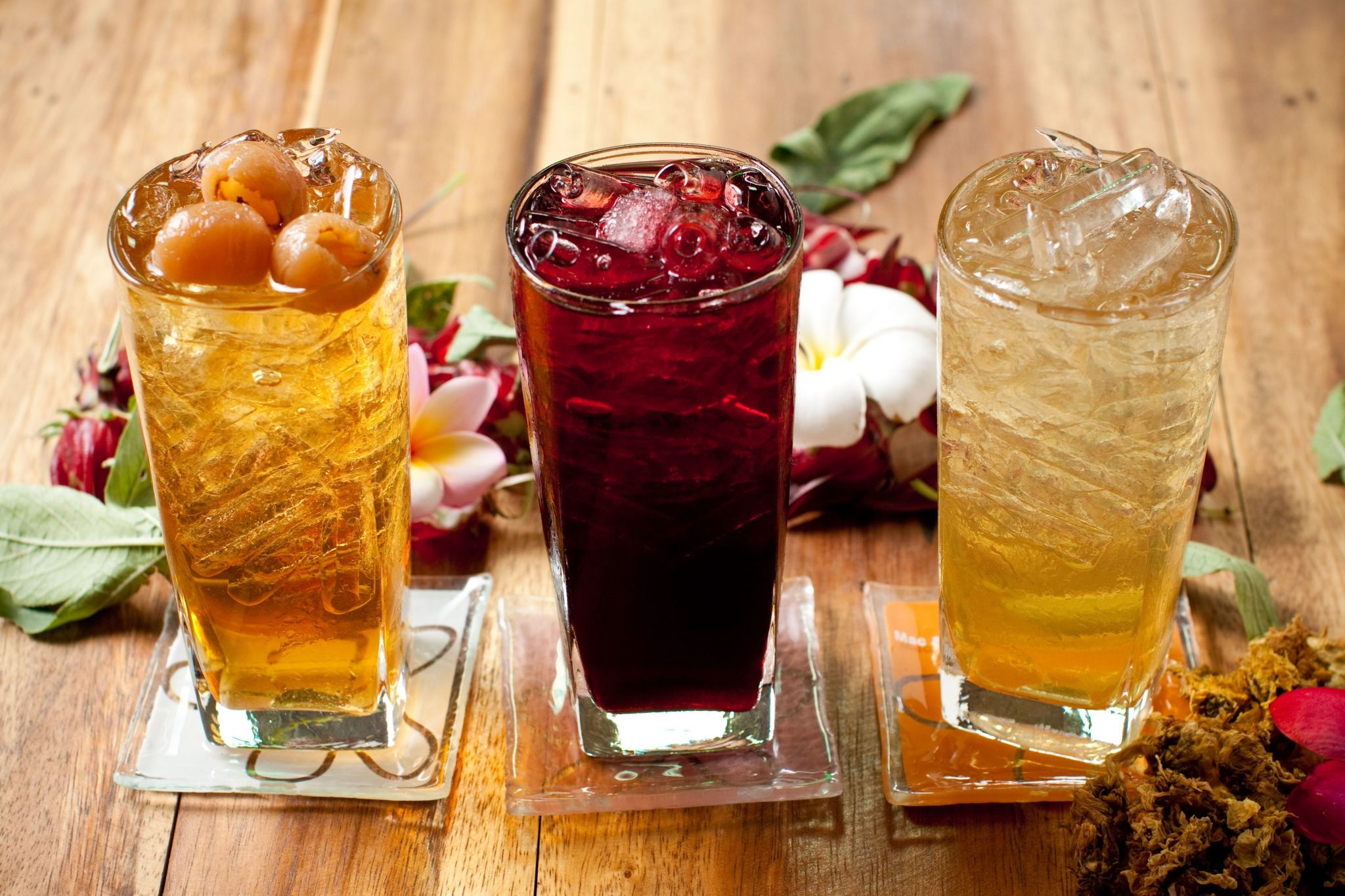 Refreshing Herbal Drinks - Royal Orchid Sheraton Hotel & Tower Bangkok