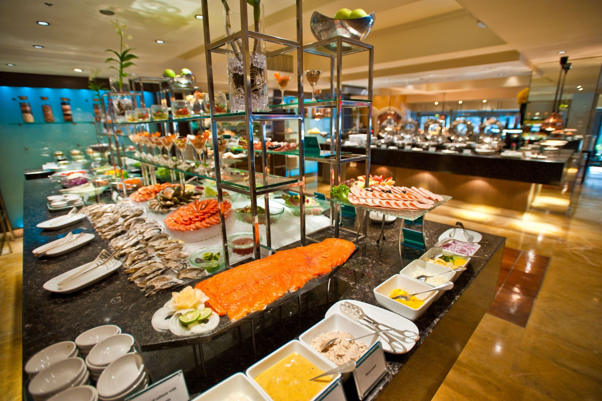 Lunch & Dinner Buffet at Feast - Royal Orchid Sheraton Hotel & Tower Bangkok