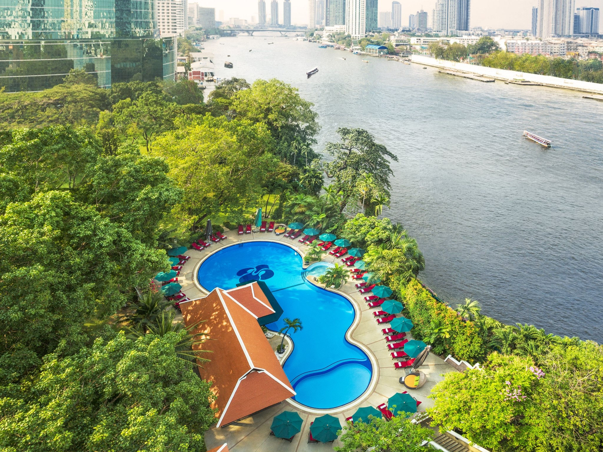 Garden Pool - Royal Orchid Sheraton Hotel & Tower Bangkok