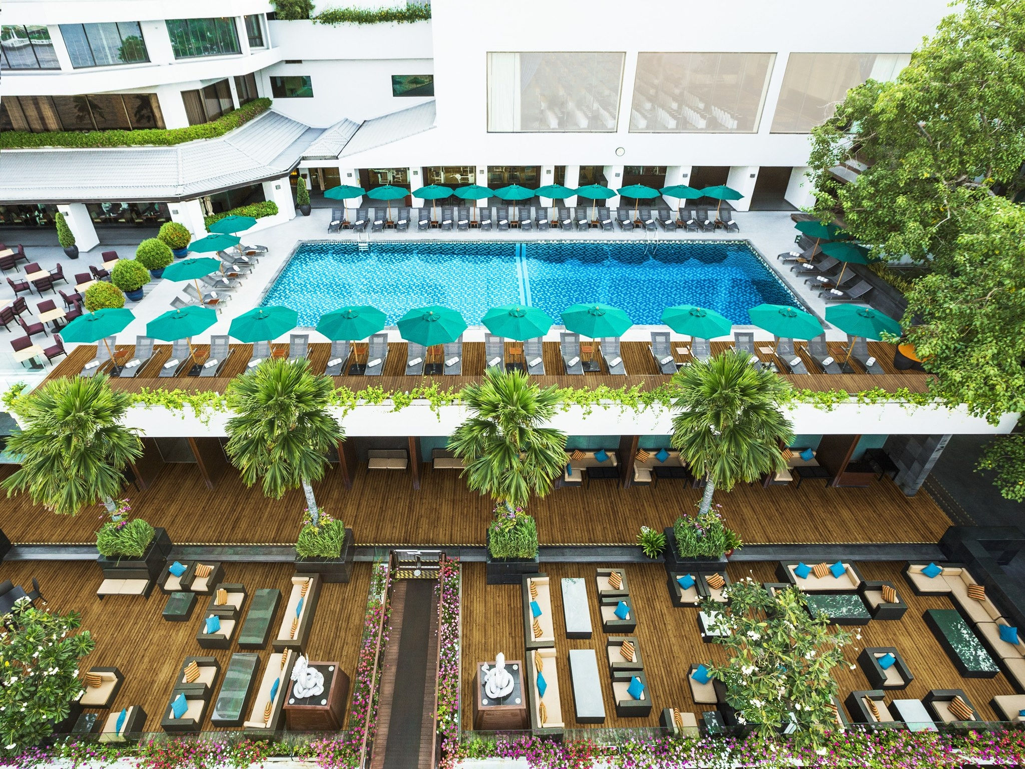 Terrace Pool - Royal Orchid Sheraton Hotel & Tower Bangkok