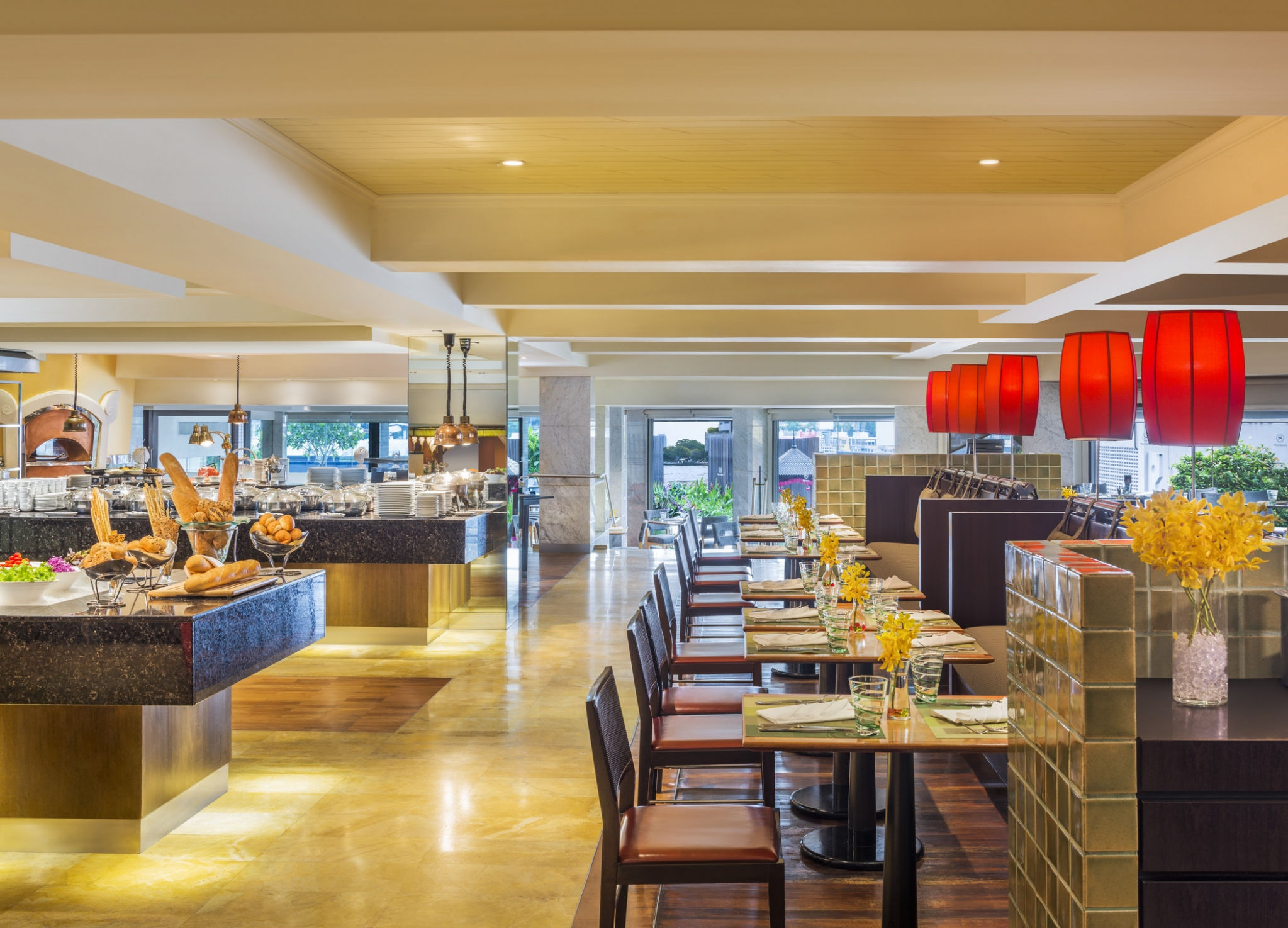 Feast riverside restaurant - Royal Orchid Sheraton Hotel & Tower Bangkok