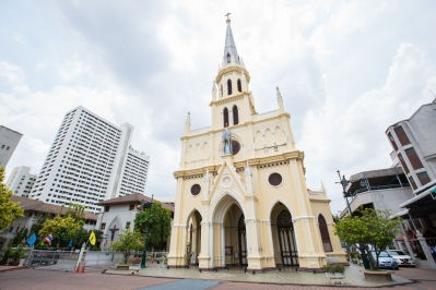 Kalawar Church - Royal Orchid Sheraton Hotel & Tower Bangkok